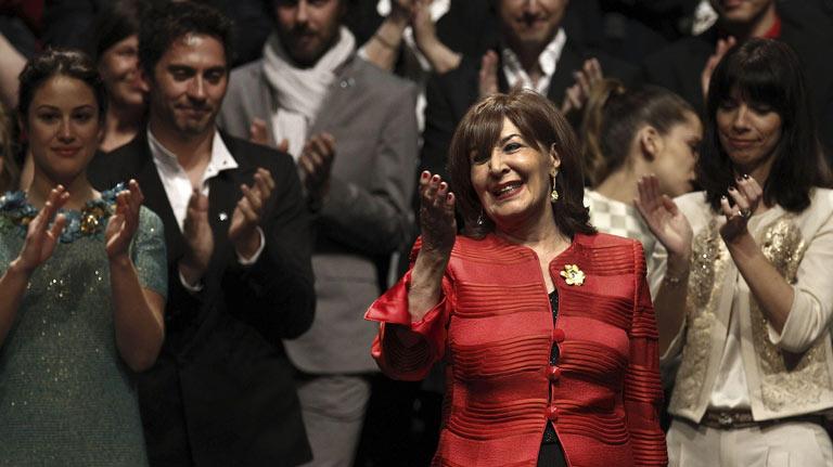 Discurso íntegro de Concha Velasco al recibir el Goya de Honor por toda su carrera
