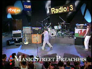 Ver vídeo  'Los Conciertos de Radio 3 . Manic Street Preachers 'If You Tolerate T