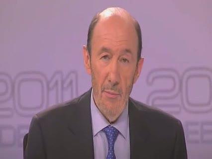 Ver vídeo  'Conclusiones de Rubalcaba en el debate electoral 2011'
