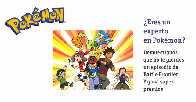 Imagen Ficha de Gana premios con Pokémon Batttle Frontier