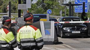 Ver vídeo  'Los conductores catalanes se niegan a pagar los peajes'