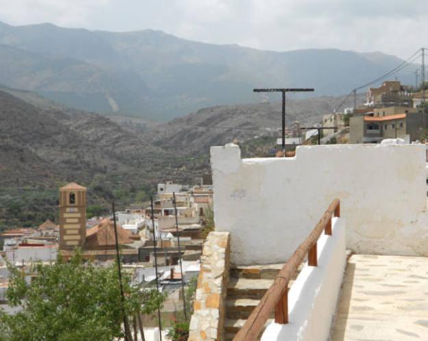Conectando España - Abla - Terraza con vistas