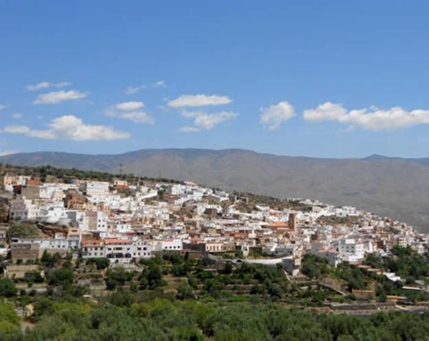 Conectando España - Abla - Vista aérea