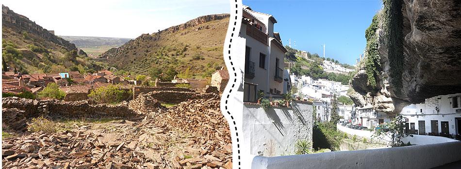 'Conectando España' descubre Setenil de las Bodegas y Patones