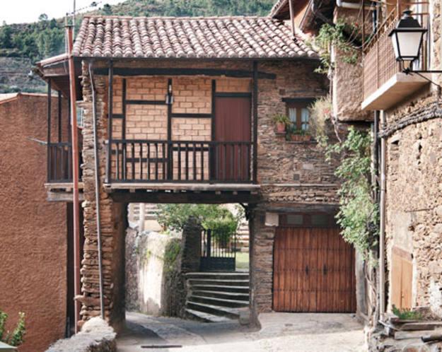 Conectando España - Robledillo de Gata - Casa típica