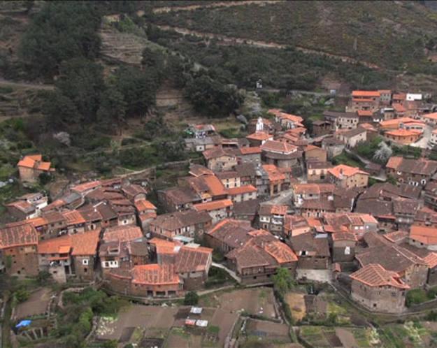 Conectando España - Robledillo de Gata - Vista aérea