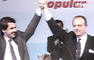 Ver vídeo  'El Congreso de Aznar (1990)'