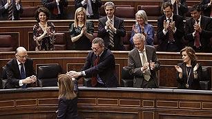Ver vídeo  'El Congreso convalida la reforma laboral con los votos del PP, CiU, UPN y de Foro Asturias'