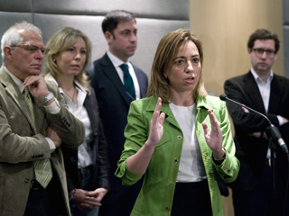 Ver vídeo  'El congreso de los socialistas en Sevilla ha empezado con retraso'