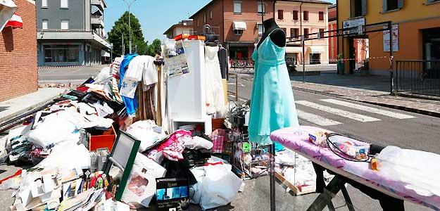 CONSECUENCIAS DE LOS TERREMOTOS EN LA REGIÓN ITALIANA DE EMILIA ROMAGNA