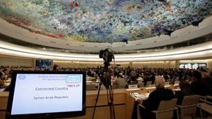 Ver vídeo  'El Consejo de Derechos humanos de la ONU condena la matanza de civiles en Siria'
