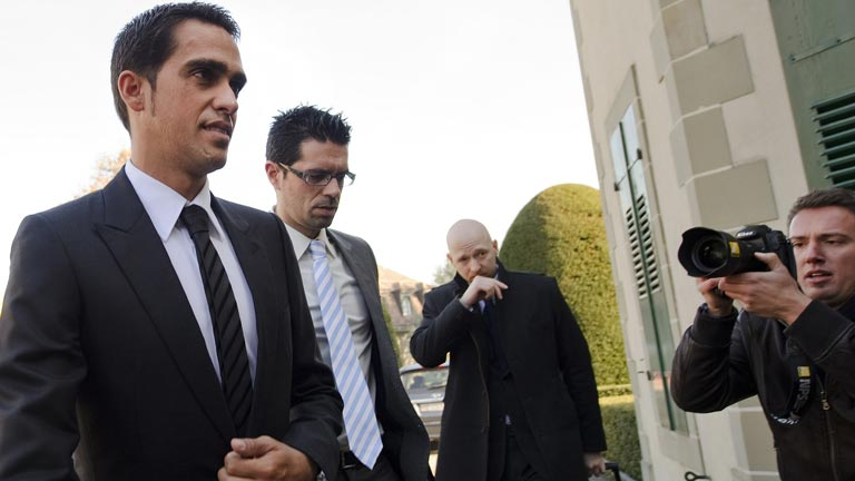 Contador, ante el juicio final