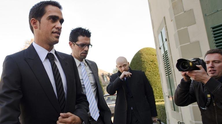 Contador, ante el juicio final