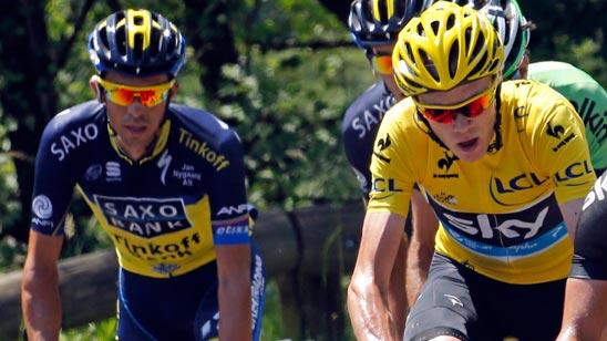 Contador recorta diferencias y Valverde pierde sus opciones
