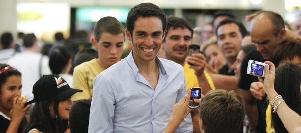 Alberto Contador tendrá que esperar a noviembre para conocer la sentencia del TAS.