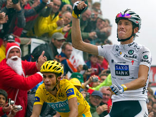 Ver v?deo  'Contador ya tiene medio Tour'
