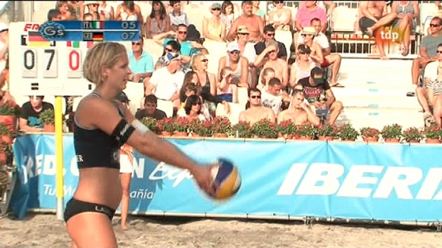 Voley playa Continental Cup - Femenino Golden set por oro - 03/10/11