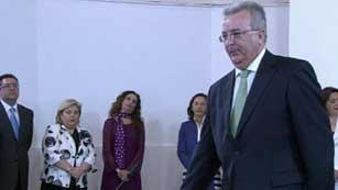 Ver vídeo  'Continúa declarando el exconsejero de Empleo de la Junta de Andalucía'