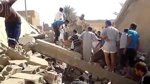 Ver vídeo  'Continúan los bombardeos en Siria'