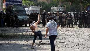 Ver vídeo  'Continúan las protestas, barricadas y quema de banderas americanas en Egipto y Yemen'