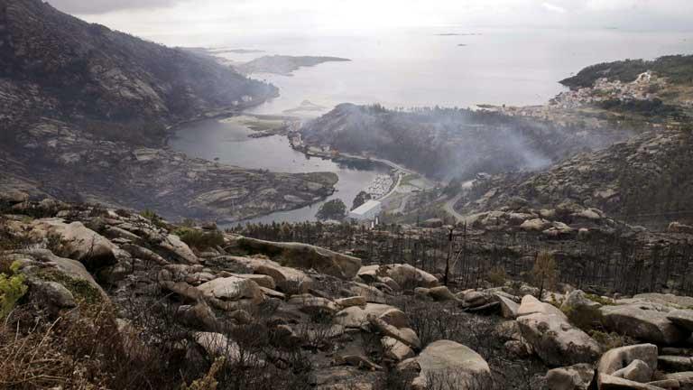 Controlado el incendio de A Coruña