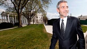 Ver vídeo  'Corazón - George Clooney media por Sudán en una recepción en la Casa Blanca'