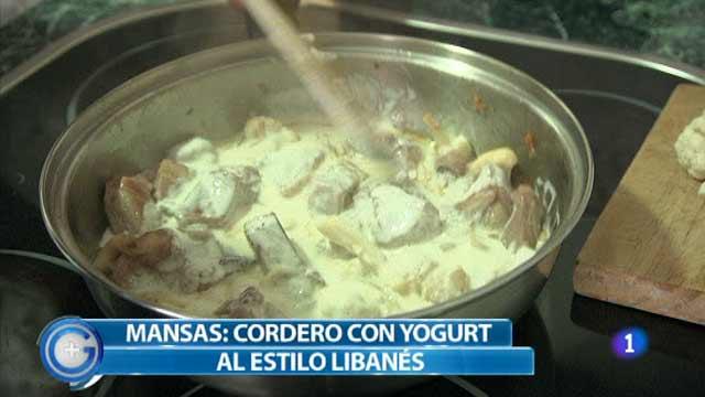 Más Gente - Más Cocina - Cordero con yogur al estilo libanés