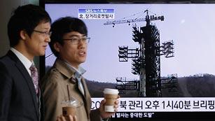 Ver vídeo  'Corea del Norte admite el fallo de su cohete, que cae al mar'