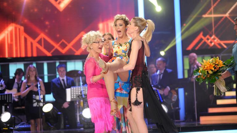 Mira quién baila - ¡Corina gana en la séptima gala a ritmo de rock!