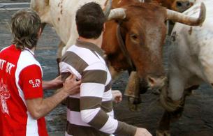 Ver v?deo  'Cornada mortal en San Fermín'