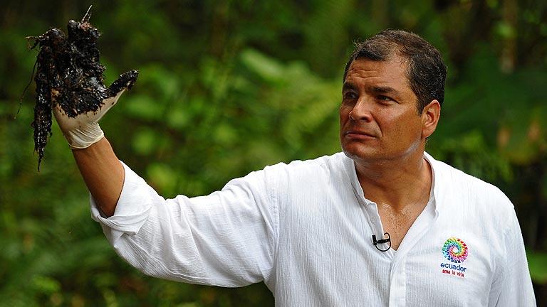"""Correa: """"Esto es Chevron Texaco, compatriotas"""""""