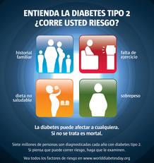 ¿Corres riesgo de contraer diabetes tipo 2?