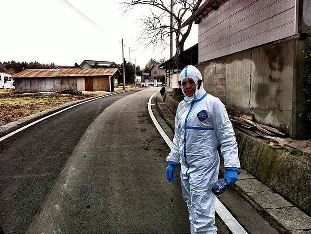 La corresponsal de TVE recorre la zona de exclusión en torno a la central nuclear de Fukushima.