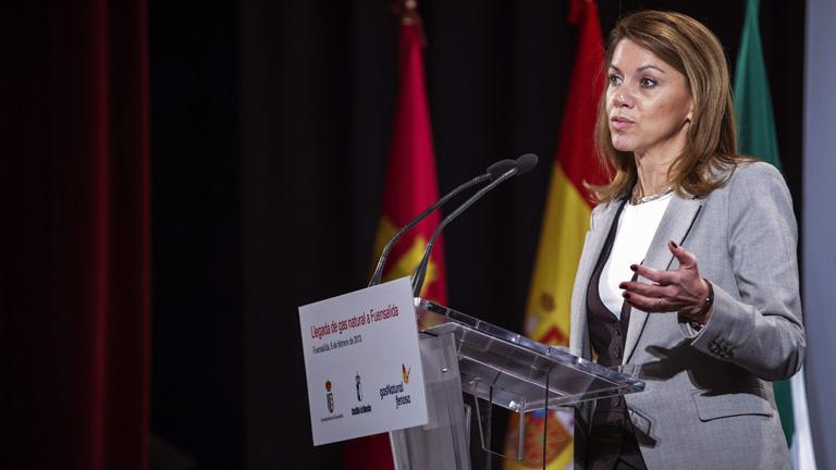 Cospedal anuncia que Castilla-La Mancha cumple el objetivo de déficit para 2012 al cerrar en el 1,48%