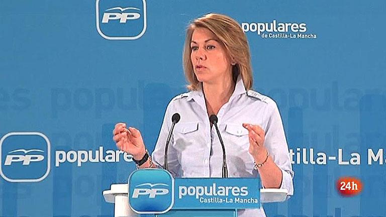 """Cospedal asegura que """"no hay incertidumbre"""" sobre la economía española"""