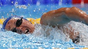 Costa, a semifinales de los 200 libres con récord de España