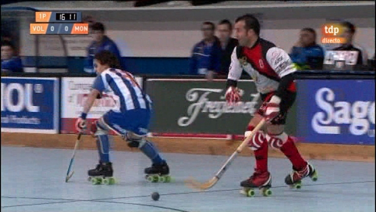 Hockey sobre patines - Liga espa&ntilde;ola. 8&ordf; jornada: CP Voltreg&aacute;-CP Monjos - 05/12/11