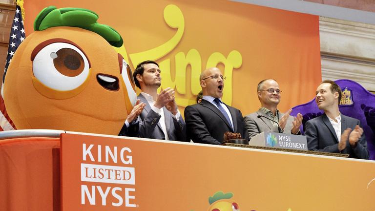 La creadora de Candy Crush se estrena en la Bolsa de Nueva York con una caída de más de un 15%