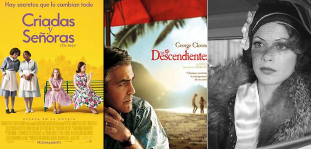 'Criadas y señoras', 'Los descendientes' y 'The artist', entre las favoritas a ser candidatas prinicipales a los Oscar