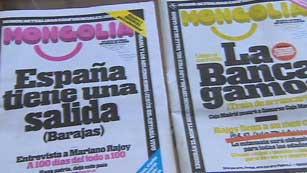 Ver vídeo  'Con la crisis se multiplican las revistas y blogs de humor sarcástico'