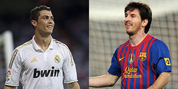 Cristiano Ronaldo y Messi, los dos extraterrestres de la Liga.