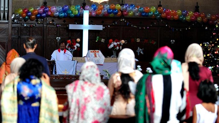 Cristianos de todo el mundo celebran la Navidad