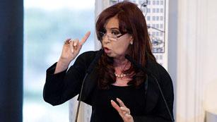 """Ver vídeo  'Cristina Fernández: """"Los que esperen que esta presidenta responda a improperios pierden el tiempo""""'"""