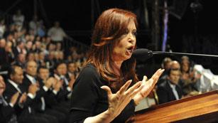 Ver vídeo  'Cristina Fernández insiste que las Malvinas están militarizadas'
