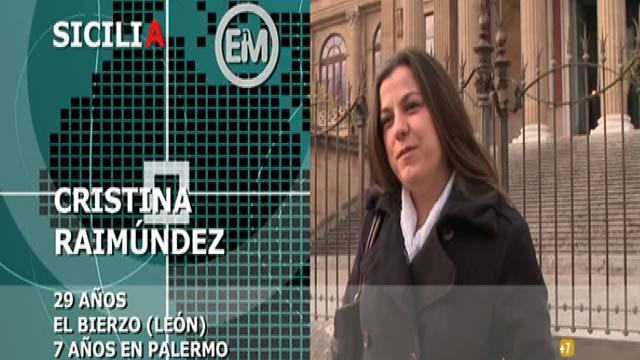 Españoles en el mundo - Sicilia - Cristina