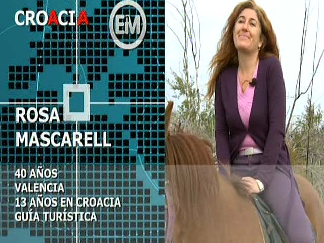 Españoles en el mundo - Croacia - Rosa