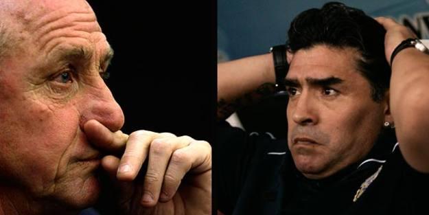 'Cruyff Vs Maradona' en el Catalunya-Argentina