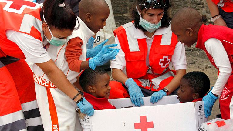 Cruz Roja obtiene el premio Príncipe de Asturias de Cooperación Internacional 2012