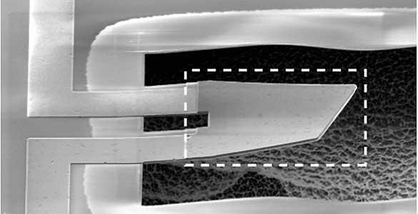 Sistema mecánico de la primera máquina cuántica
