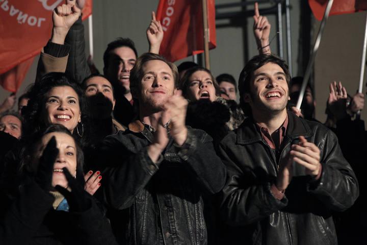 'Cuéntame cómo pasó' contó la victoria electoral del PSOE de Felipe González